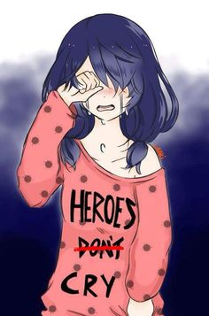 Don't cry Mari!