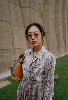 b8dc7657f How I Styled a Head-to-Toe Snakeskin Look for Loewe. Song Of StyleHer StyleCool  StyleDaily FashionFashion PhotoAimee ...