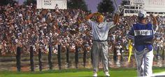 Pro Golfer John Daly Arkansas Mural