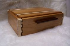 Double-Double Dovetail Jewelry Box