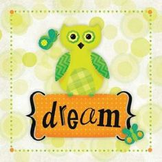 Owl Dream Poster Print by R2 Squared (12 x 12)