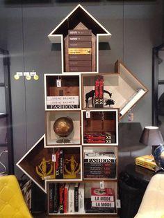 Móveis/ Furniture - Em versão moderna, a madeira foi a matéria-prima dos nichos que esbanjam versatilidade. Da Goods Br.