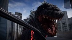 Co-op 'Godzilla VR' Game to Arrive at VR Arcades Across Japan Next Month Legendary Monsters, Vr Games, Osaka, Godzilla, Virtual Reality, Arcade, Japan, Game Design, Screens