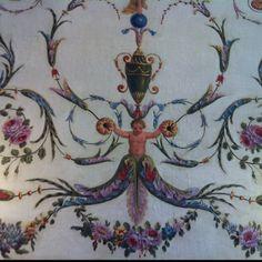 Ornaments villa Eephrussi de Rothschild Villa, Ornaments, Painting, Furniture, Art, Art Background, Painting Art, Kunst, Paintings