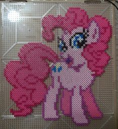 Pinkie Pie Perler by The-Original-Kopii on DeviantArt
