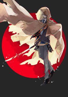 """ヨシツグ on Twitter: """"… """" Touken Ranbu, Character Art, Character Design, Mutsunokami Yoshiyuki, Samurai, In My Feelings, Anime Guys, Anime Characters, Anime Art"""