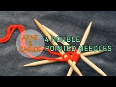 How to cast on double pointed needles the easiest way – ARNE & CARLOS