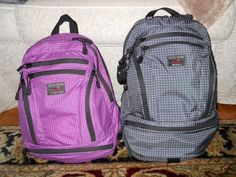 Tom Bihn Ultraviolet Synapse 19 and Steel Synapse 25