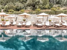 5 atemberaubende Pools zum Träumen - The Chill Report Antibes, Hotel Spa, Hotel Mallorca, Boutique Hotels, Villa, Spain, Mansions, Cool Stuff, House Styles