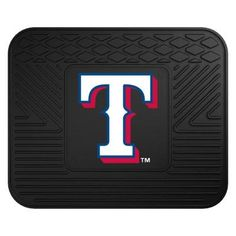 MLB - Texas Rangers Utility Mat Size: Boast your team colors with backseat Utility Mats by Sports Licensing Solutions. High quality and durable Texas Rangers Game, 17 Black, Mlb Teams, Car Mats, Vinyl Cover, Memorable Gifts, 3 D, Two By Two, How To Memorize Things