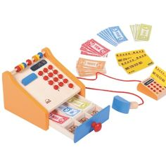 Wooden Toys Educational Toy Childrens Toys Children's Toy Shop - Hape Wooden Cash Register