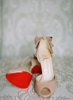 louboutin wedding shoes Noes Blanches French wedding