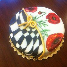 flower cake by kavarium
