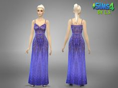 Custom haute couture gown, available in Purple/lilac color only. Found in TSR Category 'Sims 4 Female Everyday' Lilac Color, Purple Lilac, Sims 4 Tsr, Haute Couture Gowns, Prom Dresses, Formal Dresses, Summer Dresses, Sims Resource, Sims 4 Clothing