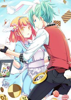 Uta no☆prince-sama♪, Mikaze Ai, Nanami Haruka, Alice (Alice in Wonderland) (Cosplay), Macaron