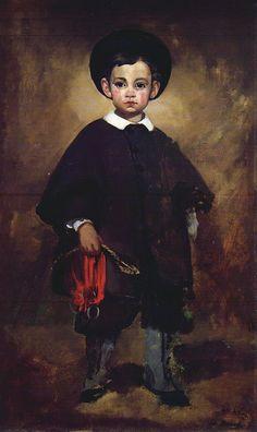 Édouard Manet - Le petit Lange