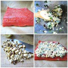 Stacey Snacks: What's for Dinner? Wild Coho Salmon w/ Hazelnut Butter