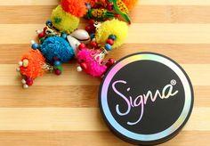 Sigma Aura Powder Blush Cor-De-Rosa Review,Swatches and FOTD