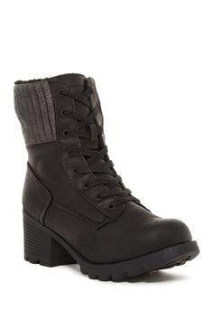 Moira Genuine Sheepskin Lined Boot