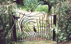 Art Nouveau and Art Deco, Some Art Nouveau Gates