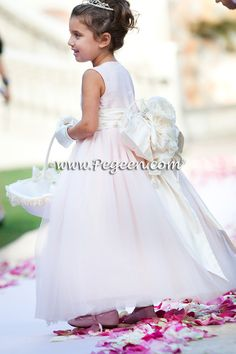 adfe5f8a53 Flower girl dresses of the year Style 402 - Degas Style Tulle Flower Girl  Dress in