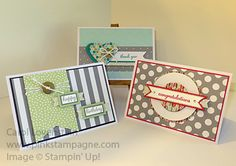 Happenings Simply Created Card Kit Dolled Up even more - I just couldn't stop (Part 3) Carol Lovenstein - Stampin' Up!