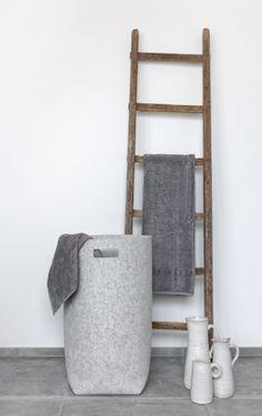 Wäschekorb Aus Wollfilz