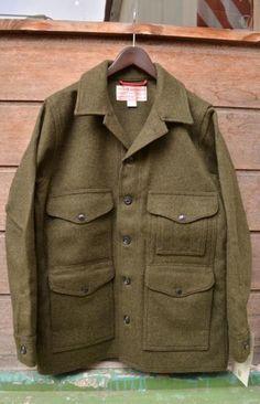 Filson 「WOOL MACKINAW CRUISER ForestGreen Made in U.S.A.」 - STURDY American Clothing Store / スターディ横浜