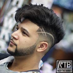 Haircut by rickythebarber_ http://ift.tt/1KOfuSd #menshair #menshairstyles #menshaircuts #hairstylesformen #coolhaircuts #coolhairstyles #haircuts #hairstyles #barbers