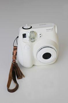 STRAP: DIY metallic leather camera strap + tassel | That's Happy