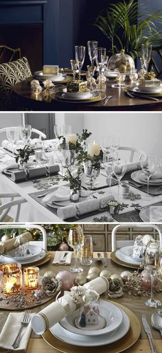 Christmas Table Settings white & pink christmas table setting | pink christmas, christmas