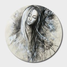 Sublimation art print on a .045 thick aluminum disk. Includes wall hanging hardware. Manually numbered, signed, and shipped with a certificate of authenticity. Bianca Paraschiv Art Prints