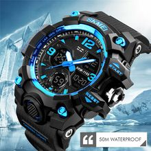 Fashion Men Watches Dress Led Digital Women Sports Watch El Back Chrono Wristwatch Waterproof Reloj Hombre 2018 Skmei And To Have A Long Life. Back To Search Resultswatches