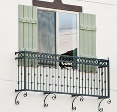 Cassia Juliet Balcony, wrought iron juliet balcony