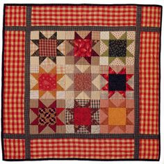 A sweet little starry quilt, from the book Little Quilts All Through the House.