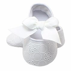 Voberry Cute Baby Girls Soft Soled Nonslip Princess Prewalker Sneakers Shoes 24 Month White ** For more information, visit image link. (This is an affiliate link) #BabyGirlShoes