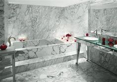 Faena Hotel guest suite bathroom                                Buenos Aires, Argentina                     Designed by Phillipe Starck