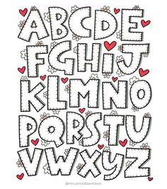 Os moldes de letras em EVA servem para diversas finalidades, além de enfeitar salas de aulas e festas de aniversários. Veja e baixe o modelo que desejar!