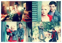 Primeval Abby and Connor!  AND REX!