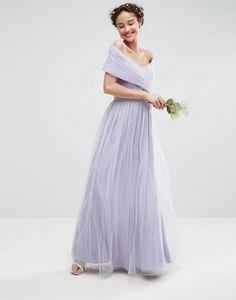 ASOS WEDDING Tulle Maxi Dress