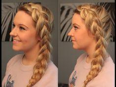 Side Dutch Braid Hair Tutorial | Joleen Louise