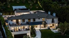 You Can Now Rent Rihanna's Beverly Hills Mansion for $80,000 a Month – Robb Report Real Estate Pictures, Luxury Modern Homes, Luxury Estate, Luxury Lifestyle, Beverly Hills Mansion, Wainscoting Panels, French Oak, Celebrity Houses, Next Door