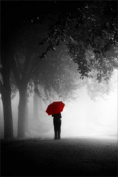 The red umbrella and the unknown