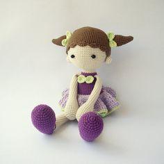 PDF-Didi Puppe, Balerina Puppe, häkeln Muster - Puppe Häkeln Spielzeug DIY…
