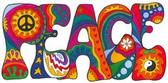 Psychedelic Peace by Kellie Espie