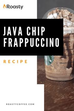 Try out this homemade java chip frappuccino! Doesn't everything taste better homemade anyway? If you're looking to treat yourself, or you're really just craving this Starbucks order, give this recipe a go! FYI- If you like coffee and chocolate, you probably already have the ingredients in your cabinet! Frappuccino Recipe, Starbucks Frappuccino, Easy Coffee, Coffee Ideas, Coffee Drink Recipes, Coffee Drinks, Make Your Own Coffee, How To Order Starbucks, Coffee Accessories