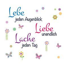 EUROGRAPHICS Wandtattoos bunt, (B/H): 90/70cm, »Live Laugh Love« Jetzt bestellen unter: https://moebel.ladendirekt.de/dekoration/wandtattoos/wandtattoos/?uid=ed0cecec-ecf6-5fb1-adc4-5f032042f730&utm_source=pinterest&utm_medium=pin&utm_campaign=boards #tattoos #dekoration