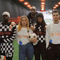 Virgil Abloh Offers First Look at Nike x Off White Football Jersey in London - SoccerBible