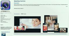 FREE Universal (iPad & iPhone) App: Splashtop CamCam ➤ http://itunes.apple.com/us/app/splashtop-camcam/id461511788?mt=8 - US Apple Store - Facebook Camera: Filter Emerald - 2012 05 26