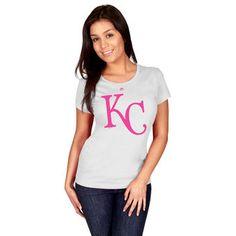 Women's Kansas City Royals Majestic White 2015 World Series ...